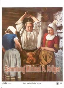 Aushangfoto Nr. 33: Marianne Simson (Nina), Will Dohm und Gisela von Collande (Stin)