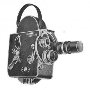 Bolex H 16-mm mit Revolverkopf