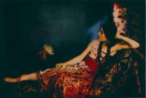 Ein unbekannter Pigementdruck aus den 1920er Jahren (Dreifarbenfotografie)