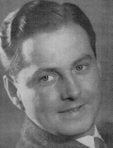 Harry Giese, der bekannteste Sprecher der Deutschen Wochenschau
