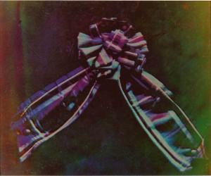 Die Aufnahme einer schottischen Ordensschleife gilt als erste Farbfotografie der Welt.