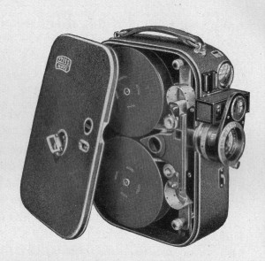 Zeiss-Ikon Movikon 16 mm Spulen-Kamera